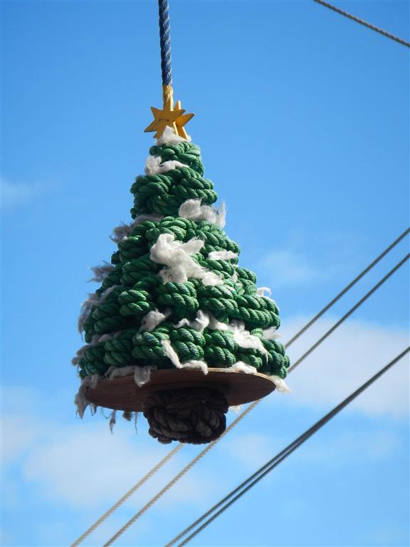 Was für ein toller Weihnachtsbaum!