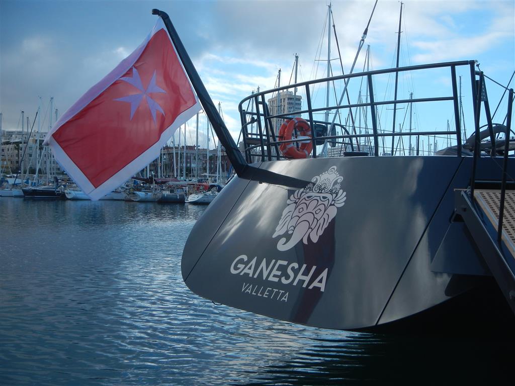 """Die """"Ganesha"""" aus Malta."""