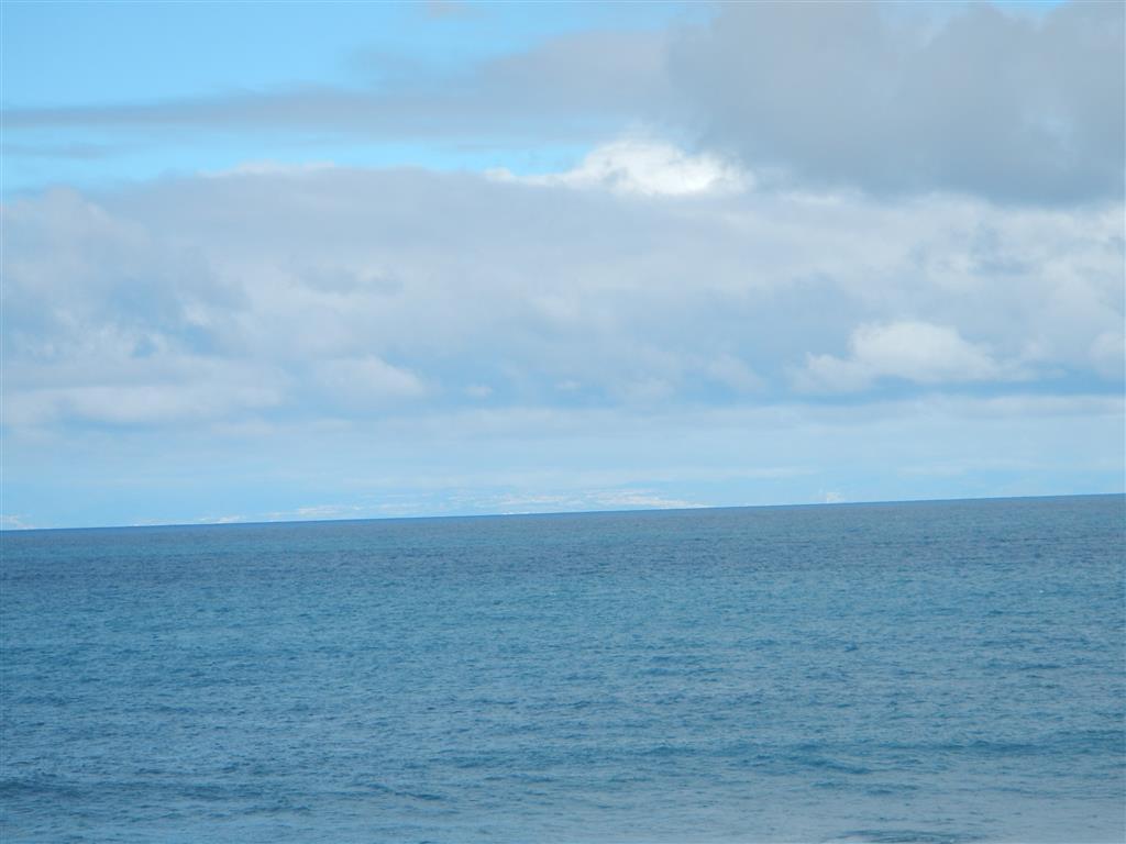 Von Puerto de las Nievas kann man bis nach Teneriffa sehen, ist leider auf dem Bild nur schwer zu erkennen.