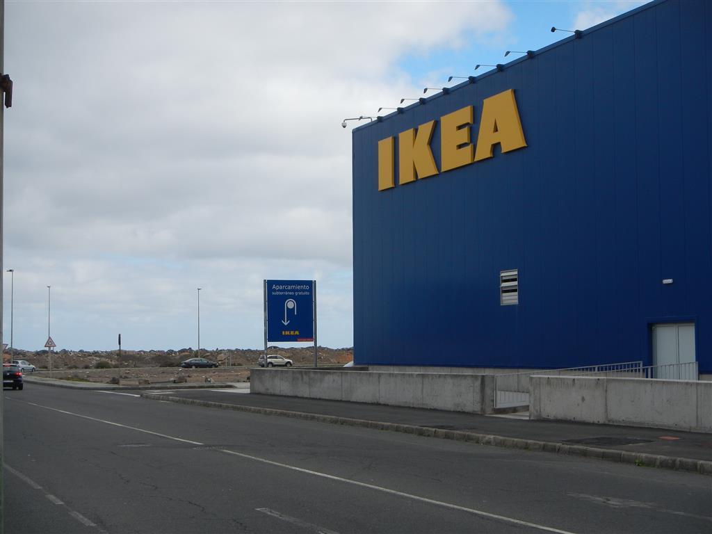 IKEA in Telde, nicht weit weg von Las Palmas.
