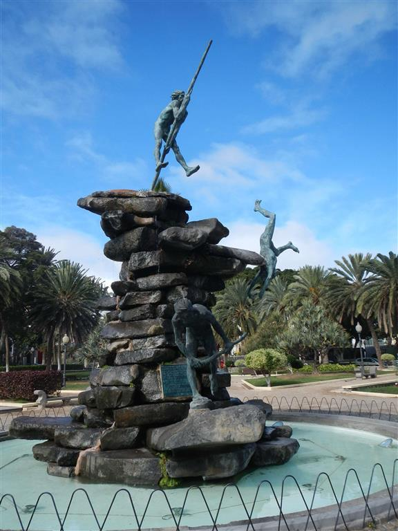 Hier haben wir eine Ausflug zum Parque Doramas in Las Palmas gemacht.