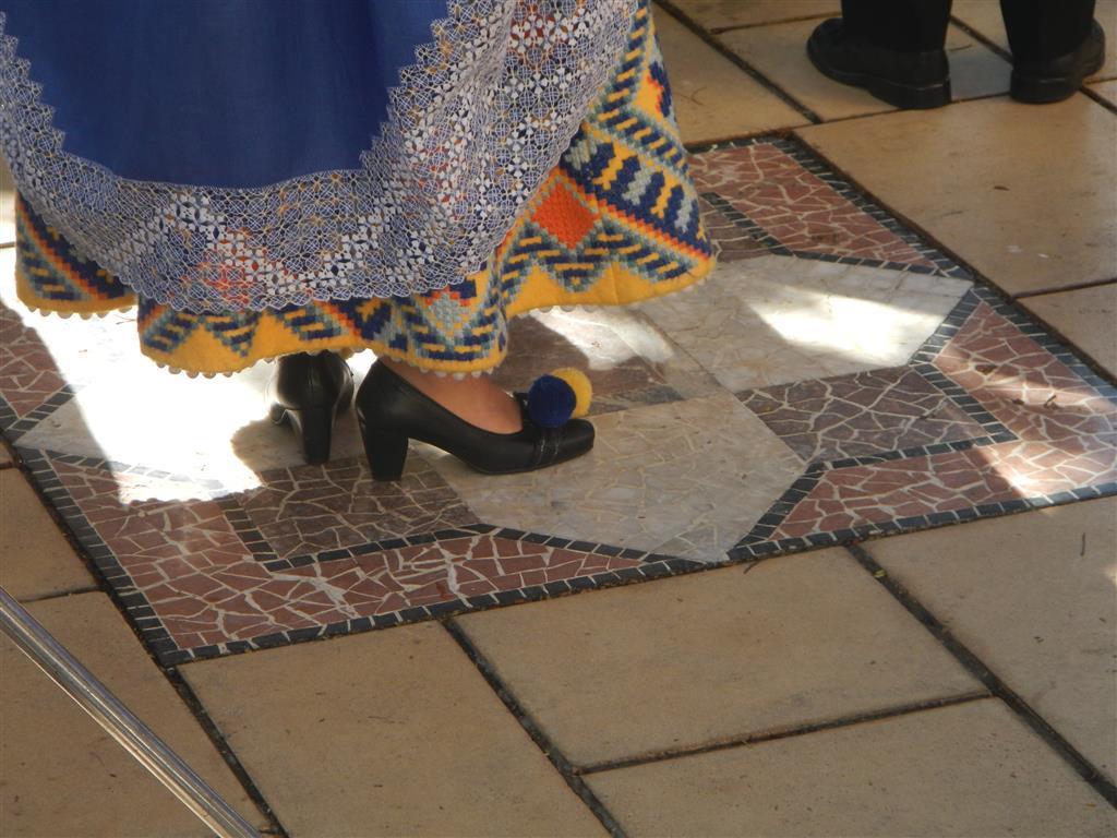 Mit Bömmeln auf den Schuhen!