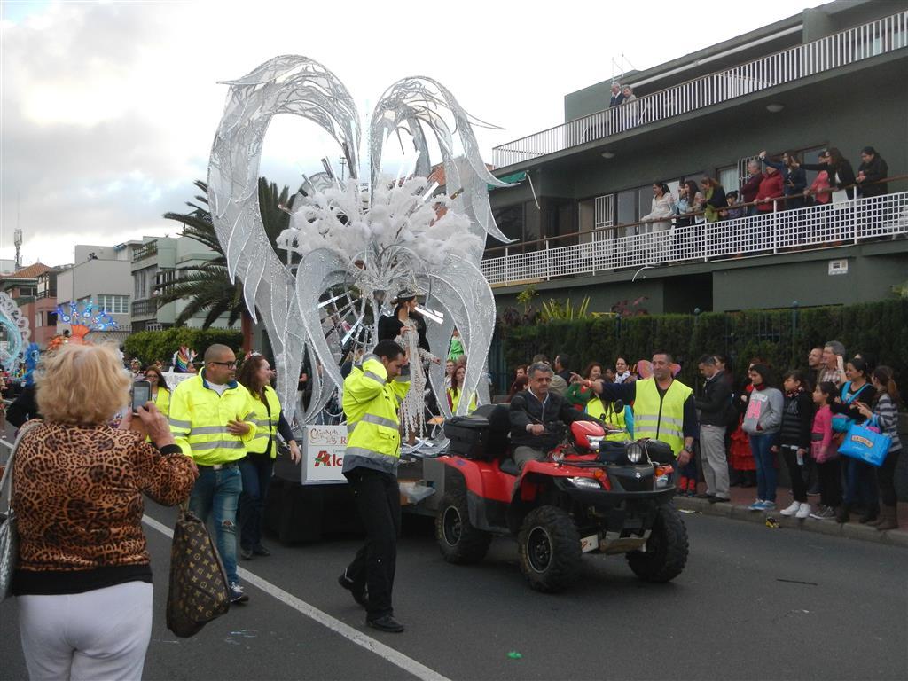 Die Karnevalskönigin 2014 von Las Palmas.