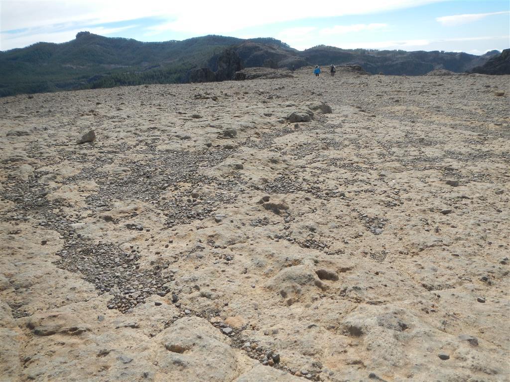 Mondlandschaft um den Roque Nublo