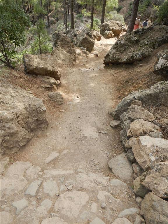 Wanderweg zum Roque Nublo