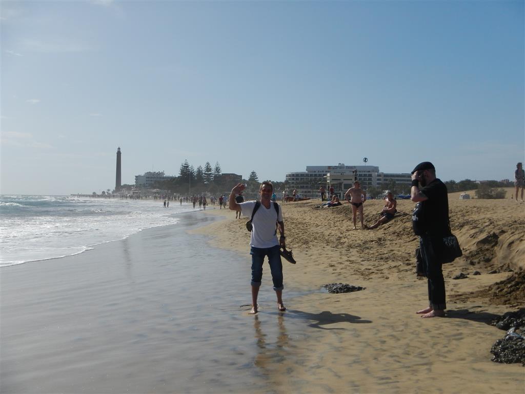 Strand von Maspalomas.