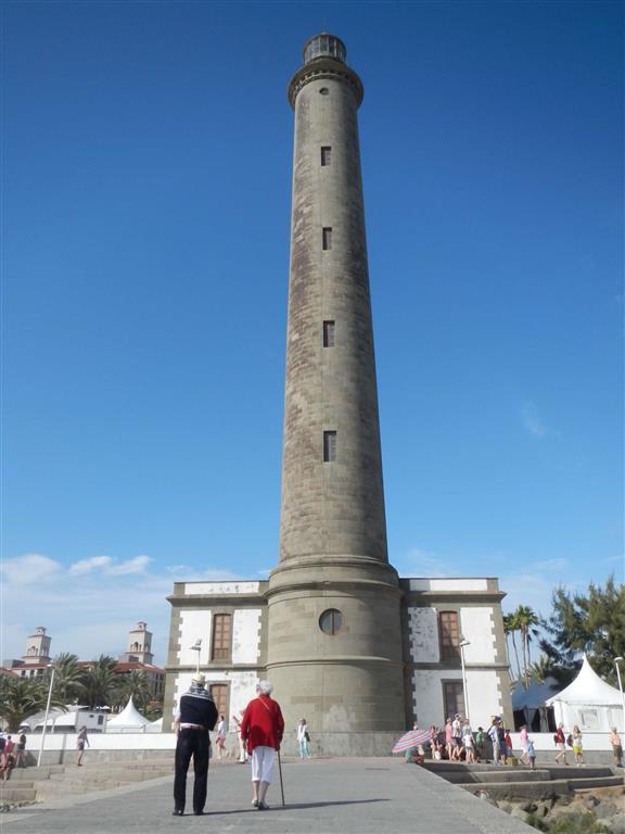 Der Leuchtturm (Faro) von Maspalomas