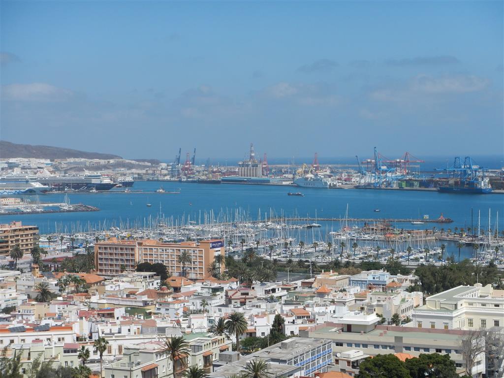 Hier haben wir einen Ausflug gemacht, man hat einen tollen Blick über die Las Palmas.