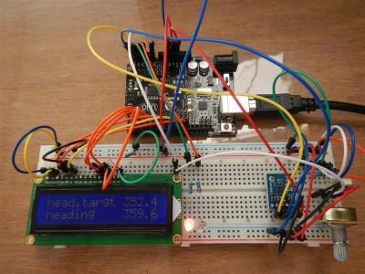 Autopilot auf Arduino-Basis.