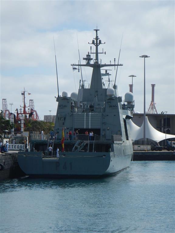 Schiff der Marine aus der Meteorr-Klasse (P-41)