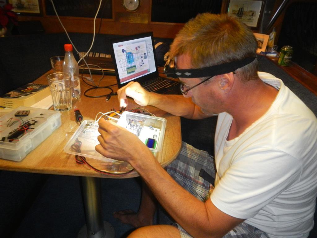 Sven bastelt so gerne mit dem Arduino!