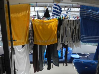 Letzter grosser Waschtag in Las Palmas