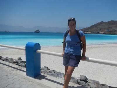 Am Strand von Mindelo
