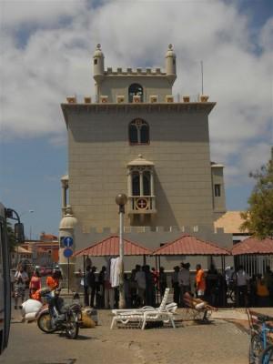 """Das """"Torre de Belem"""" von Mindelo"""