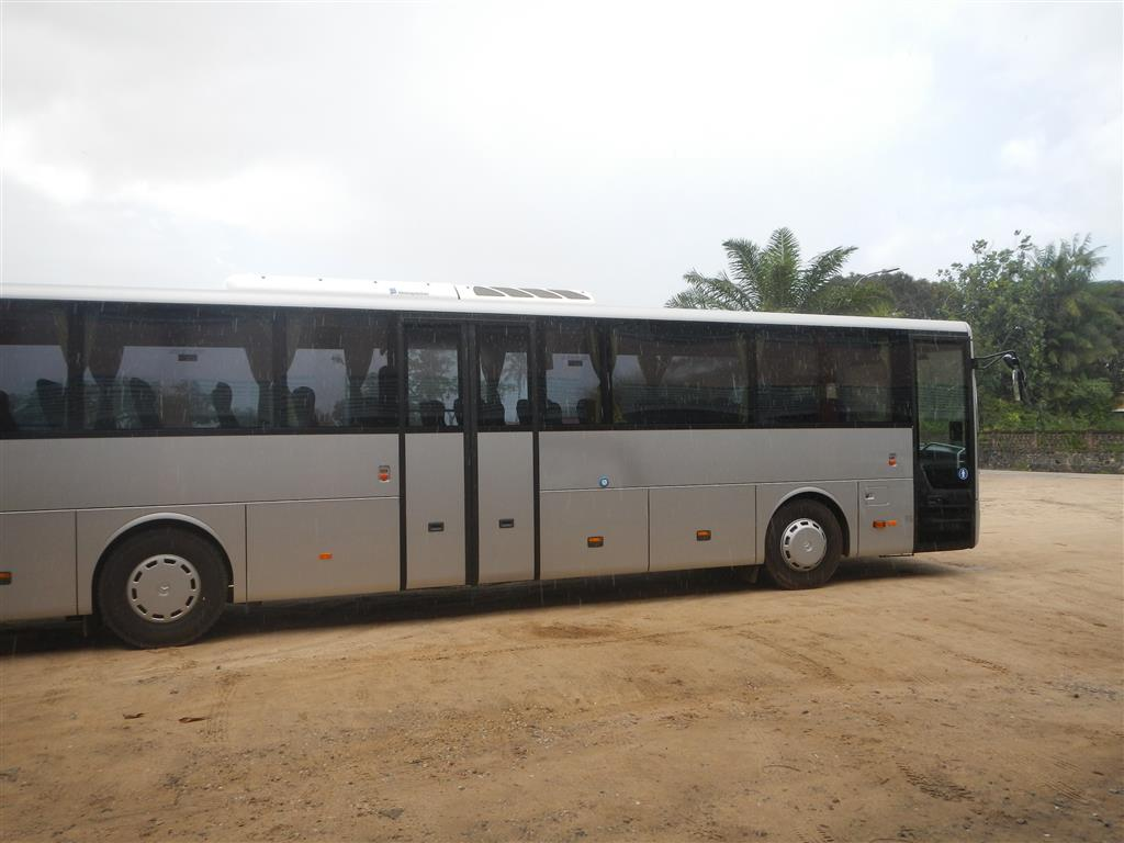 Unser Bus nach Kourou