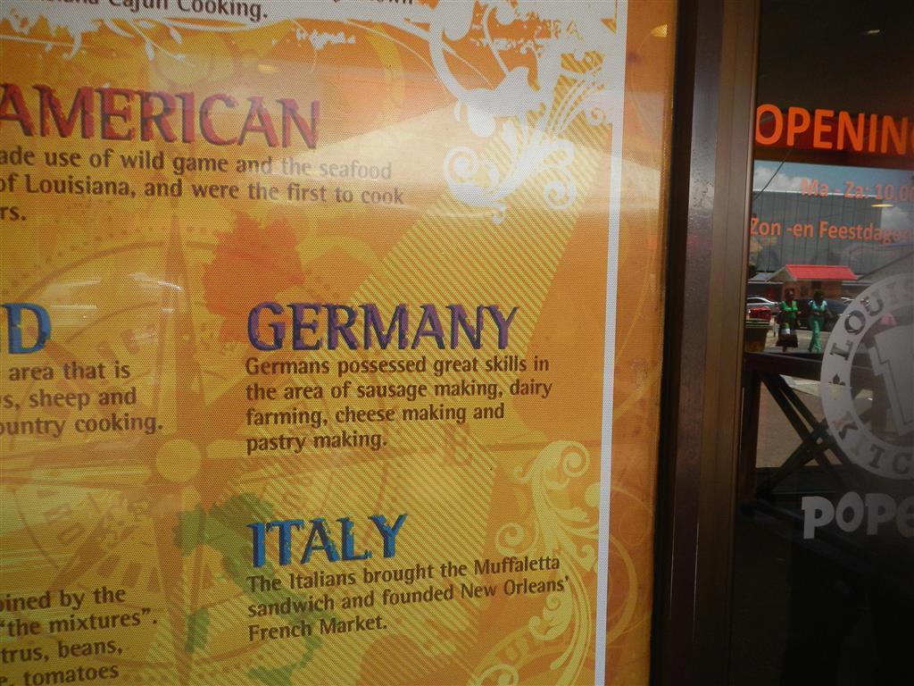 Ah ja, dafür sind wir Deutschen also berühmt!