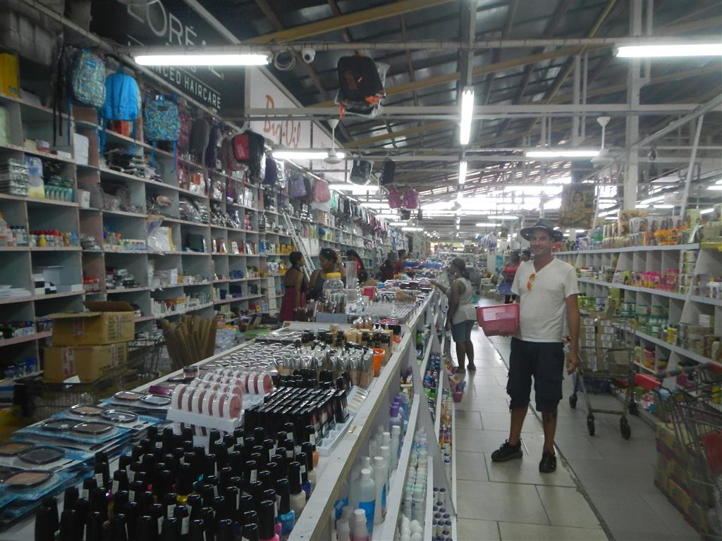 Im Combe-Markt in Paramaribo.