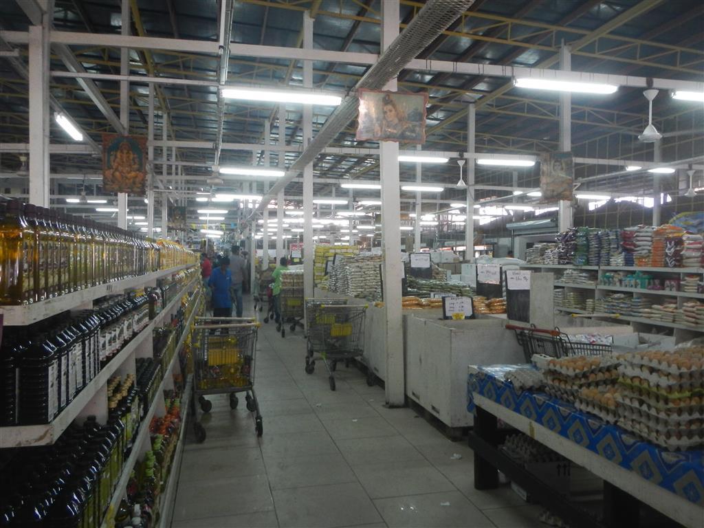 Combe-Markt in Paramaribo.