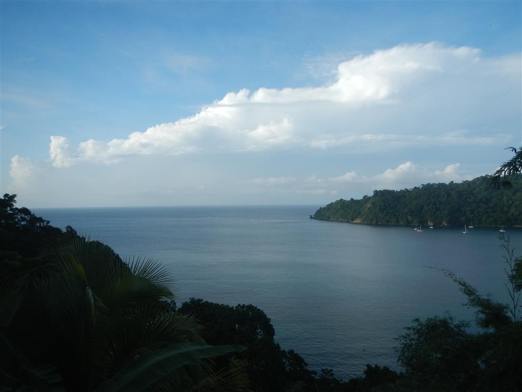 Blick auf die Bucht von Charlotteville