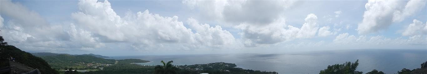 Blick vom Fort King George Richtung Norden