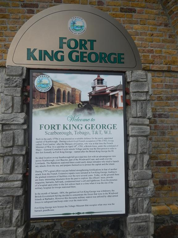 Fort King George in Scarborough