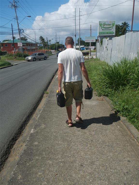 I'm walking...