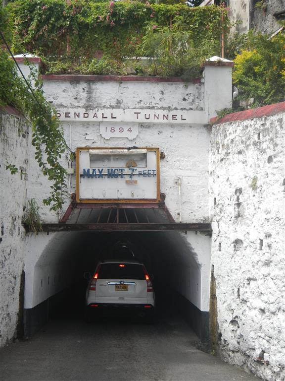 Sendall Tunnel in St. George's