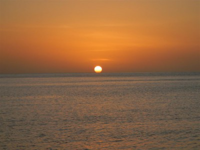 Sonnenuntergang Halifax Harbor