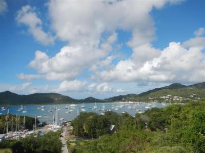 Blick über Tyrrol Bay