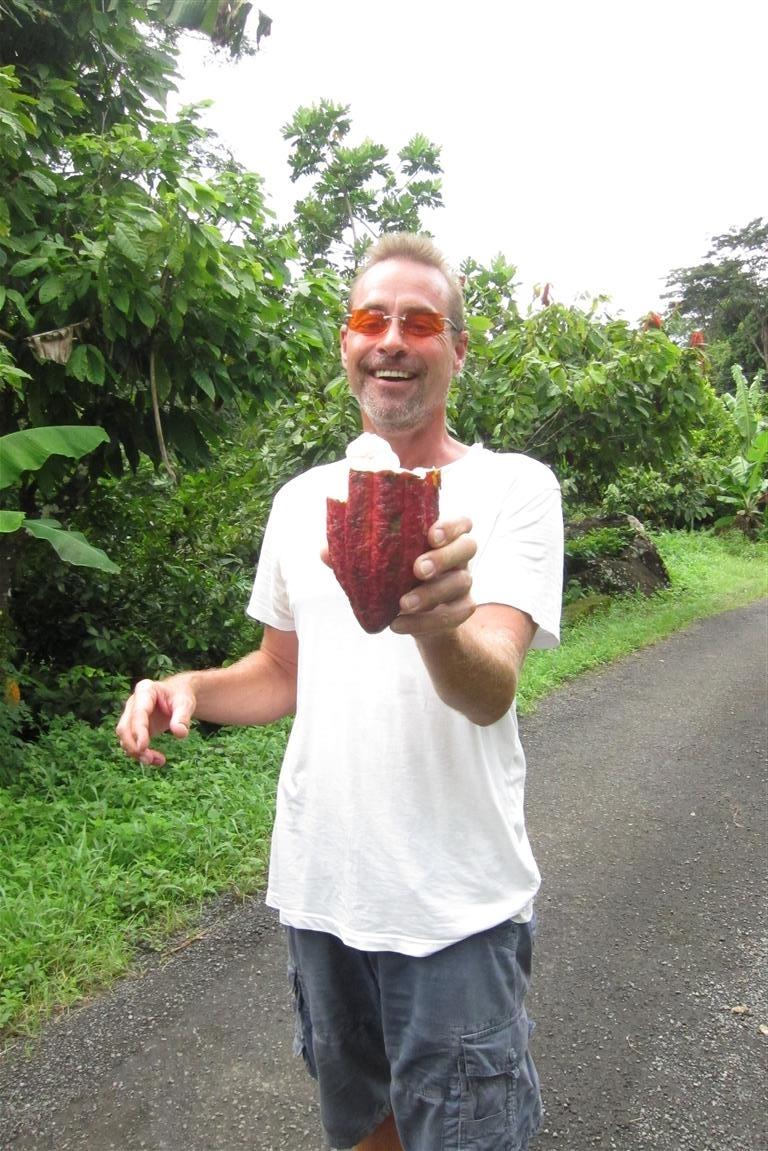Sven und die Kakaofrucht