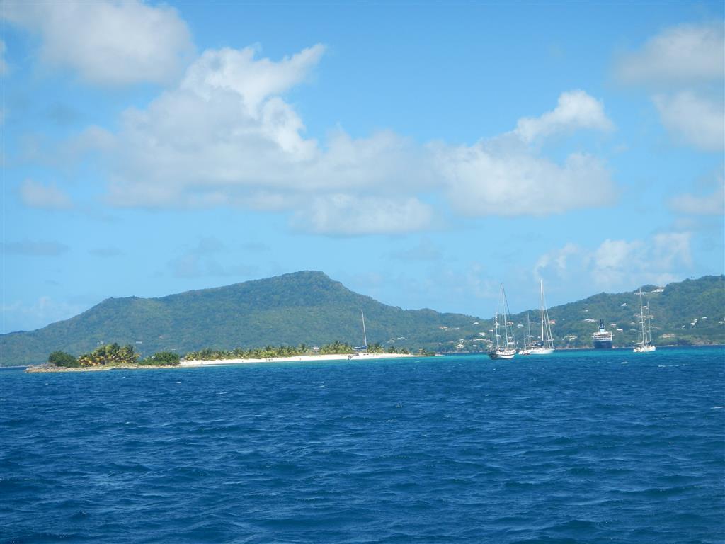 Sandy Island voraus!