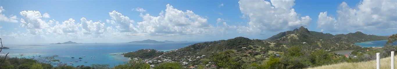 Blick von Union Island in Richtung Grenada