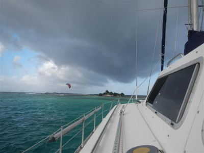 Was für ein Wetter in Union Island
