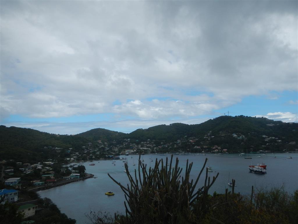 Blick über die Admirality Bay in Bequia