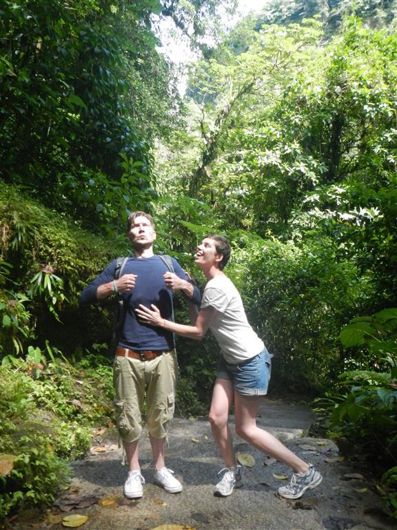 Tarzan und Jane im Dschungel