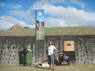 Besuch des Fort Delgrès