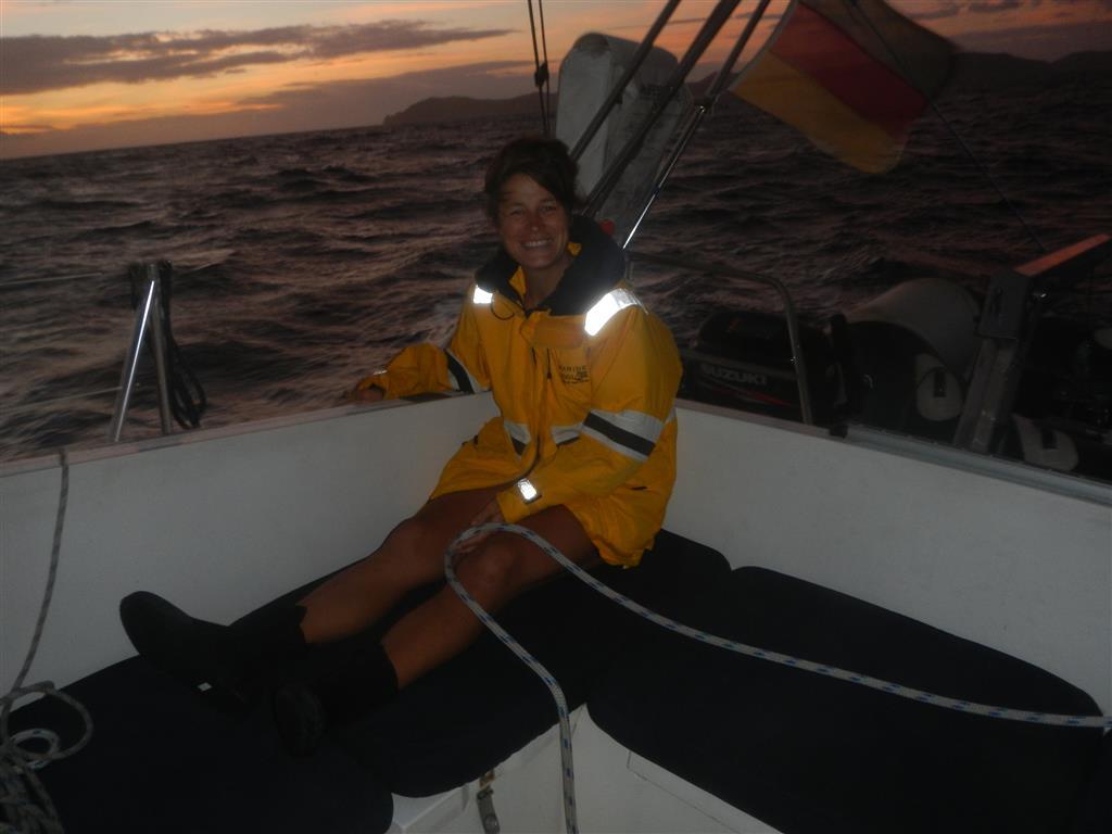 Morgens um 05:00 auf dem Weg nach St. Lucia