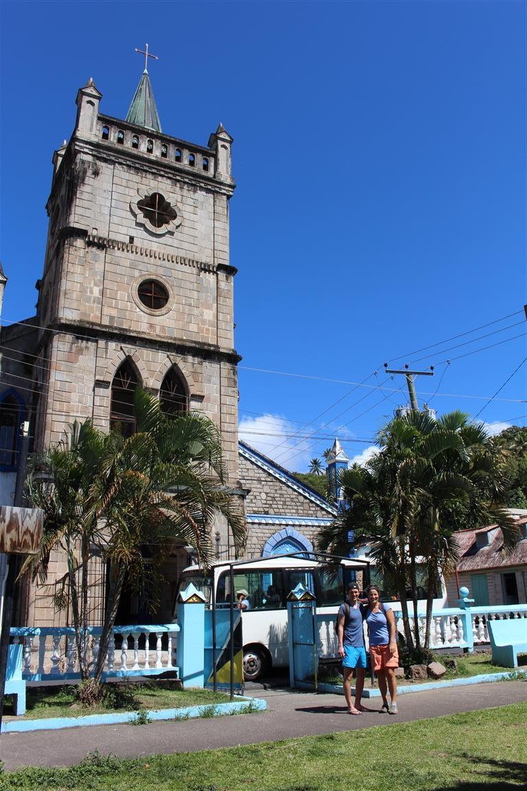 Kirche in Soufriere