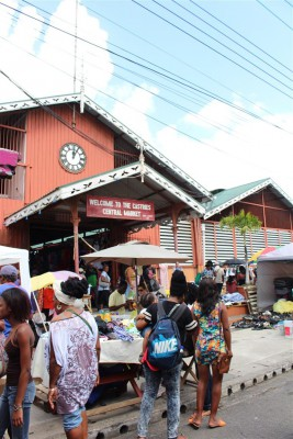 Markt in Castries