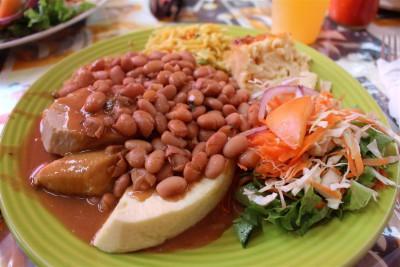 karibisches Mittagessen