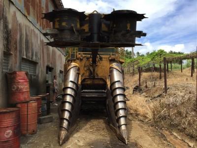 Zuckerrohrerntemaschine, Ernteertrag 5000 Tonnen pro Stunde