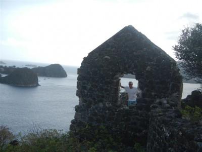Fort auf Ilet a Cabrits