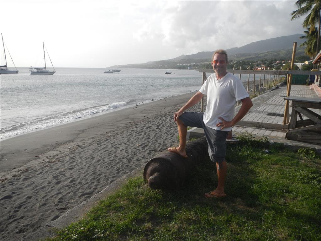am Strand von St. Pierre