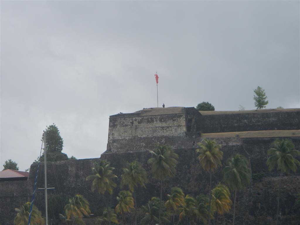 Auf dem Fort haben sich Scharfschützen positioniert, glücklicherweise sind sie später unverrichteter Dinge abgezogen