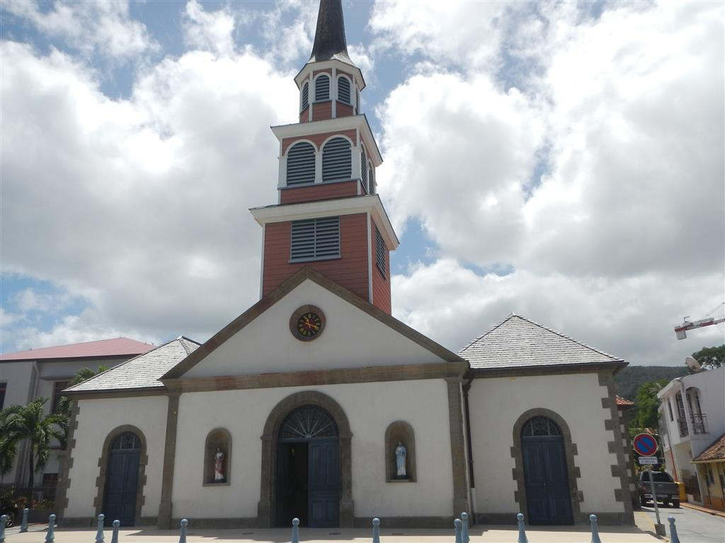 Kirche in Petit Anse d'Arlet