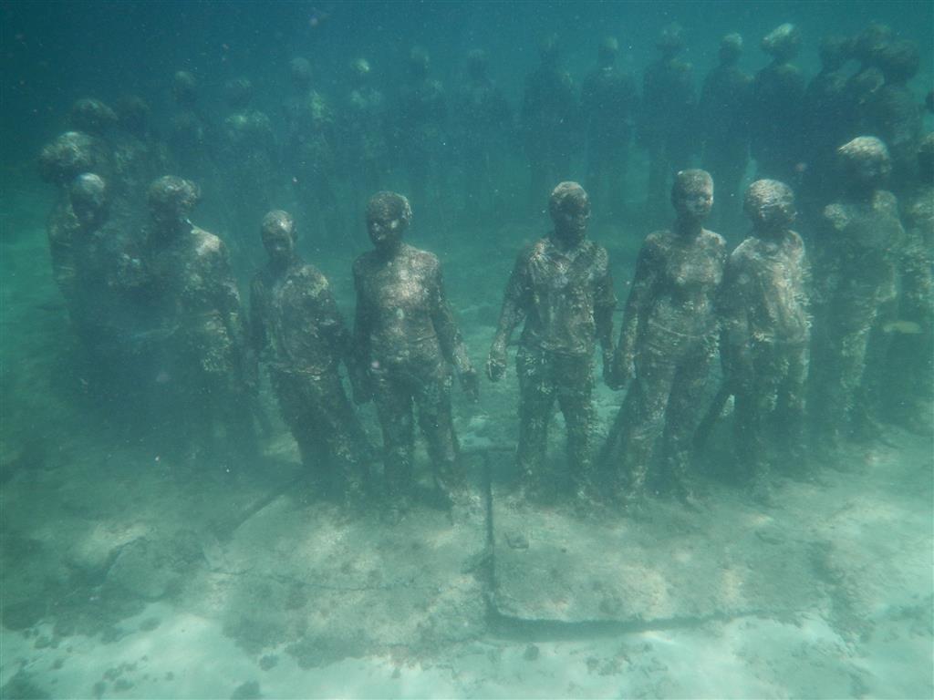 Bilder vom Unterwasserpark (Grenada)