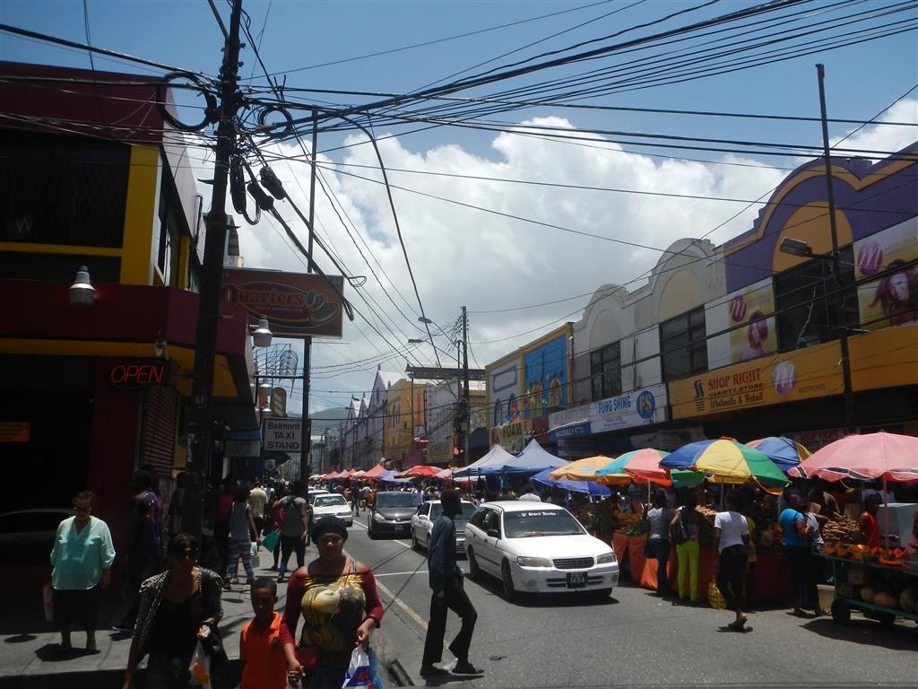 In Port of Spain ist ganz schön was los!