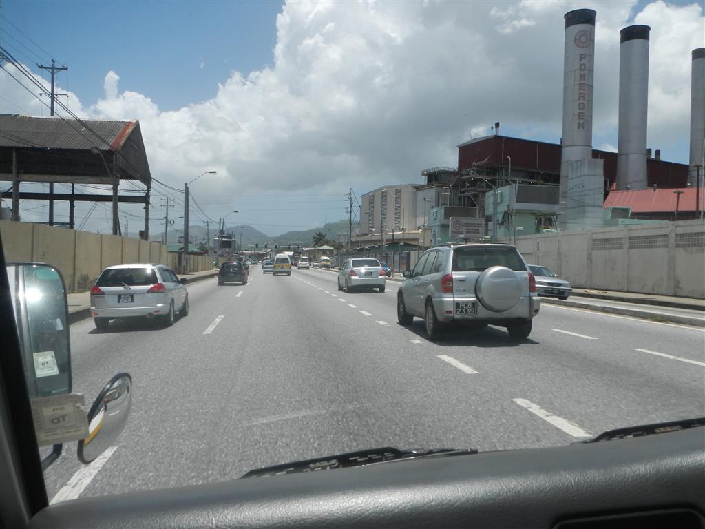 Wir machen spontan eine Fahrt nach Port of Spain.