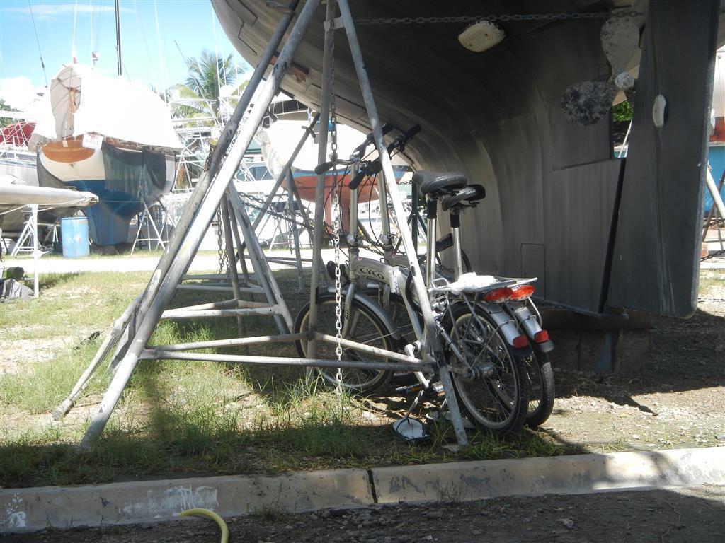 Unser Fahrradparkplatz
