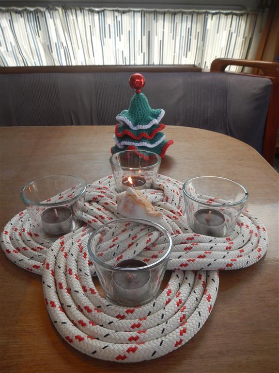 Selbstgemachte Weihnachtsdeko zum 1.Advent